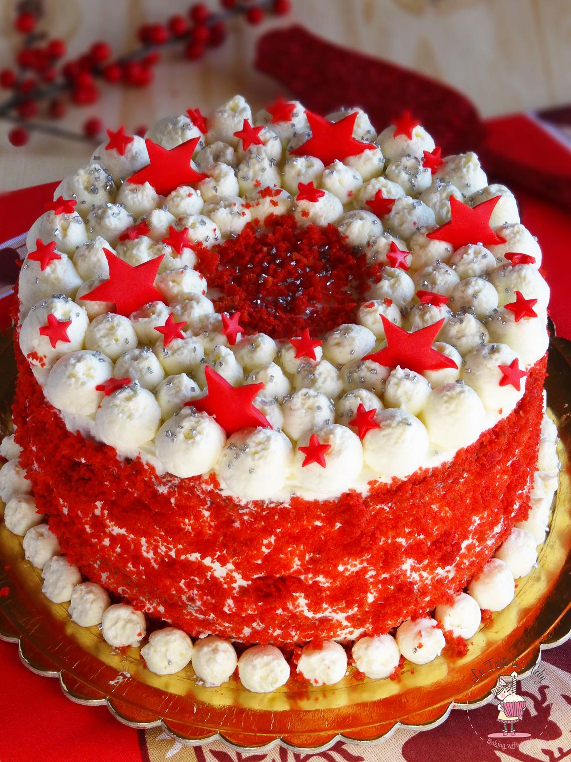 XMas Red Velvet Cake