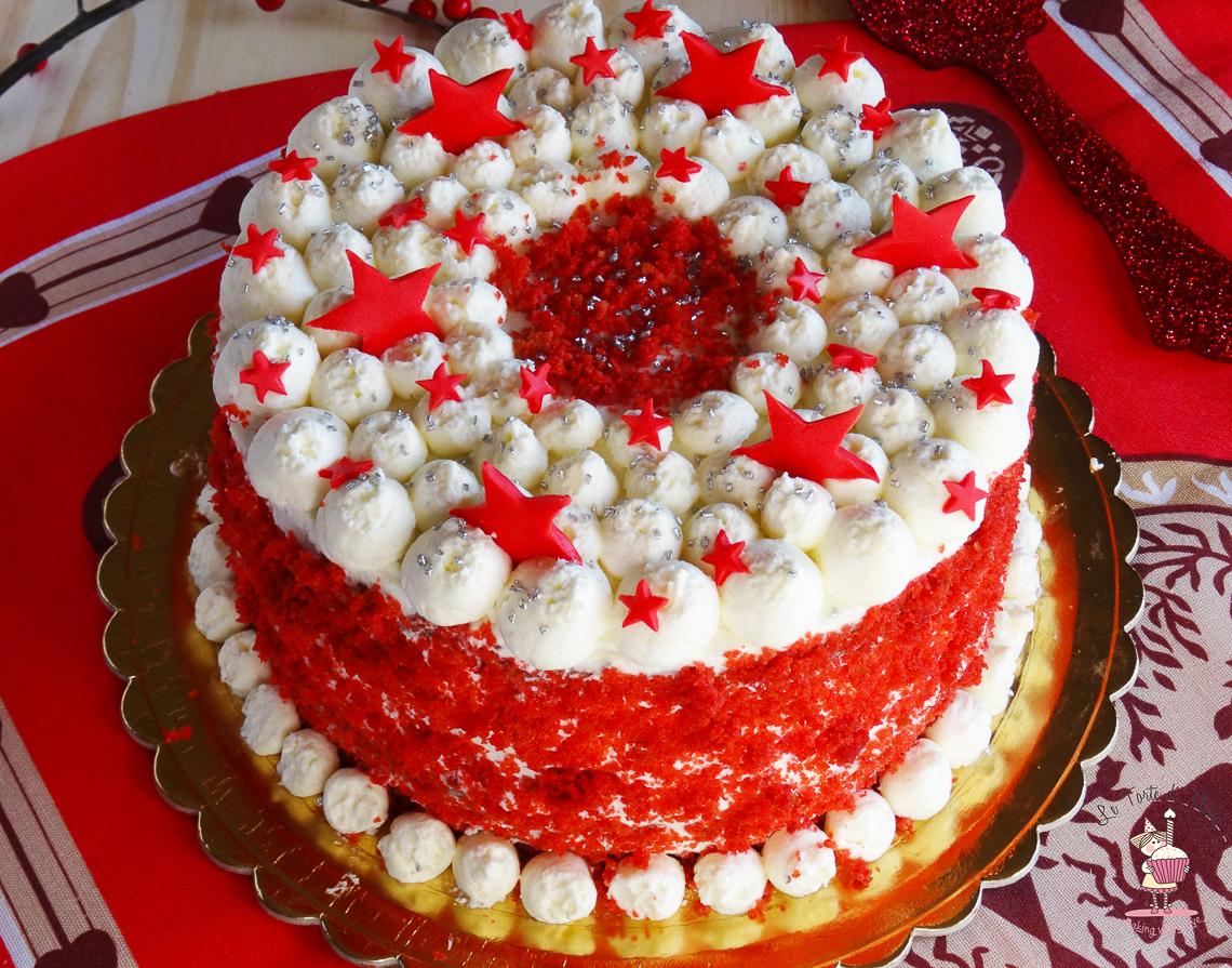 XMas Red Velvet Cake Large 1